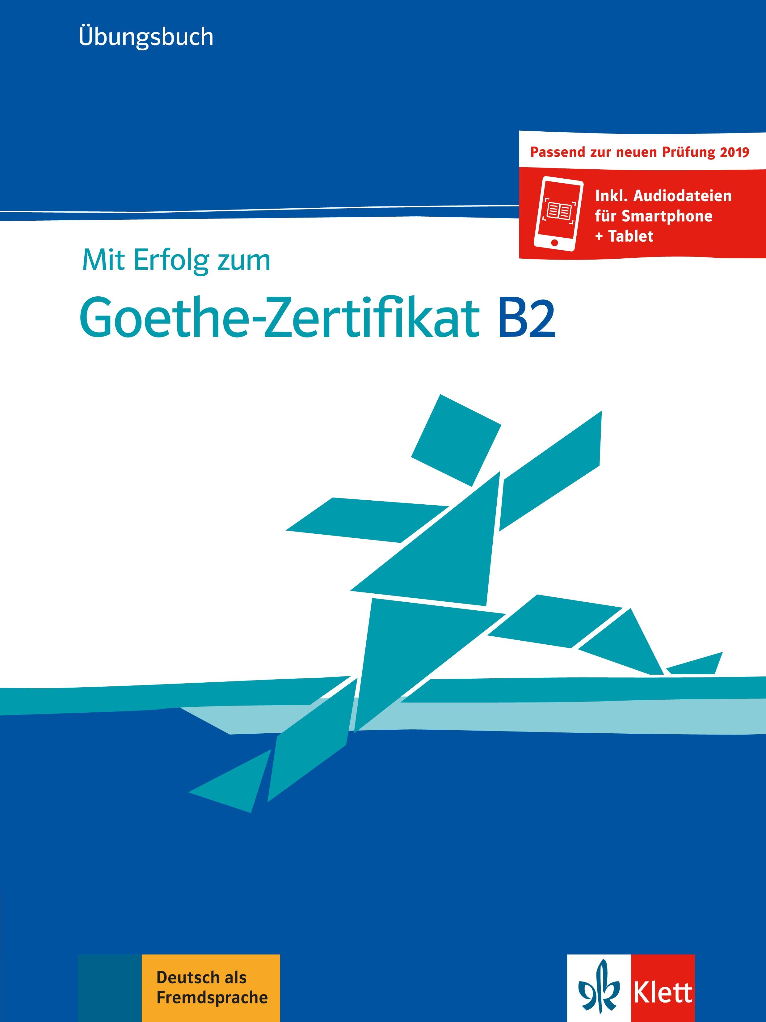 Mit Erfolg zum Goethe Zertifikat B2 Übungsbuch نشر راین